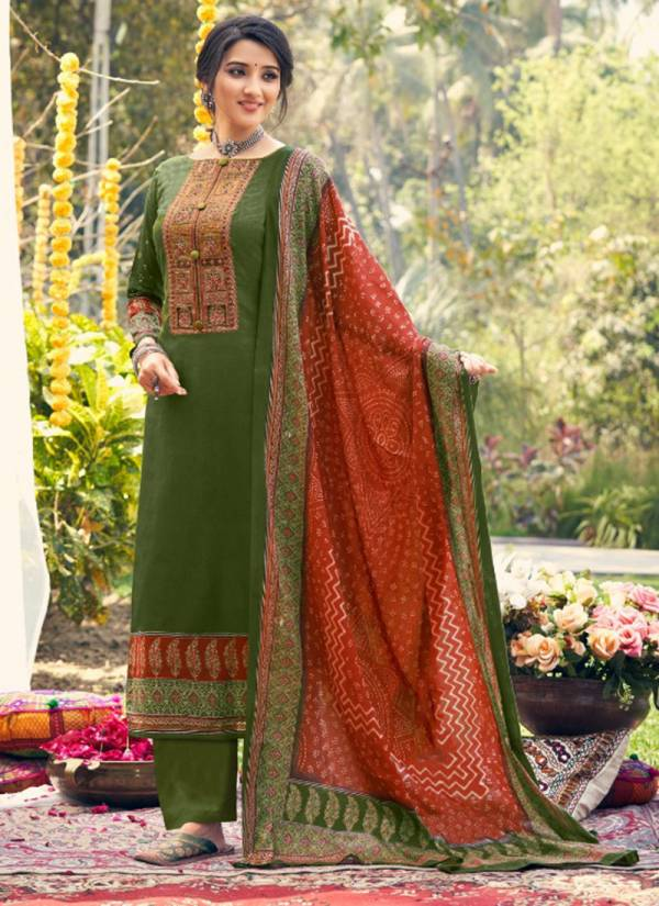 Levisha Parnika Pure Lawn Cotton Print With Heavy Embroidery Work Salwar Suits Collection