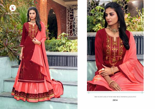 Blossom V-15 Jam Silk Cotton with Embroidery Work Wedding Wear Garara Suits Collection