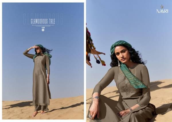 Riddhi Siddhi Fashion Vrisa Parampara Chinon Silk Plazzo Salwar Suit Collections