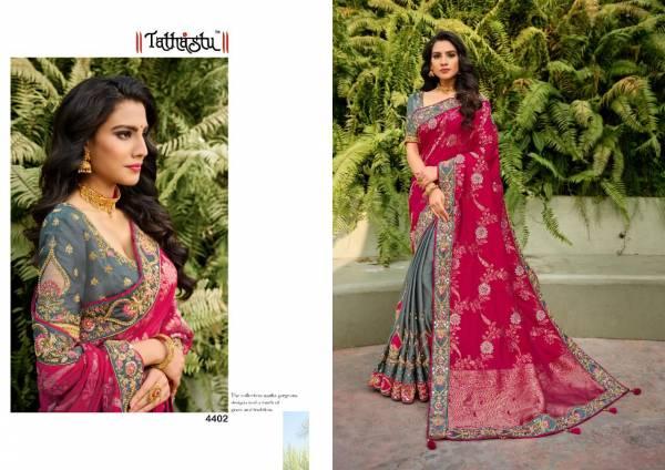 Tathastu Heavy Silk Traditional Wear Exclusive Sarees Collection