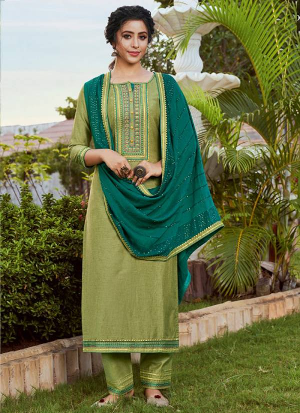 Rangoon Rangoli Series 2591-2594 Solid Silk With Ethnic Work Exclusive Readymade Straight Suits Collection