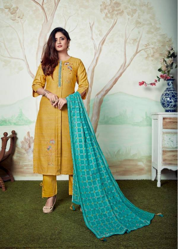Krishriyaa Nazakat Series 21030-21033 New Designer Pure Pashmina Readymade Festival Wear Suits Collection