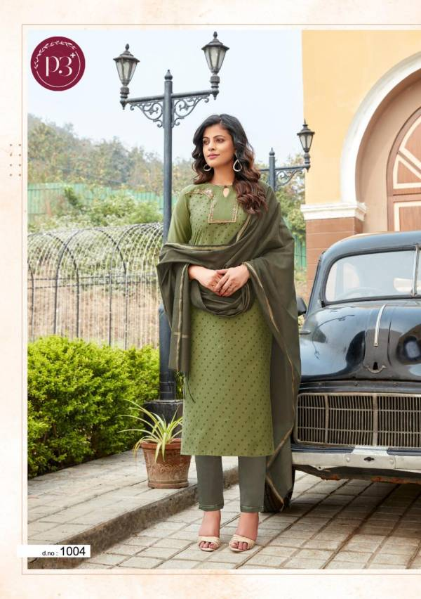 Fanfirki P3 Plus Nargis Series 1001-1006 Pure Viscose Muslin With Print & Heavy Embroidery Work Designer Readymade Salwar Suits Collection