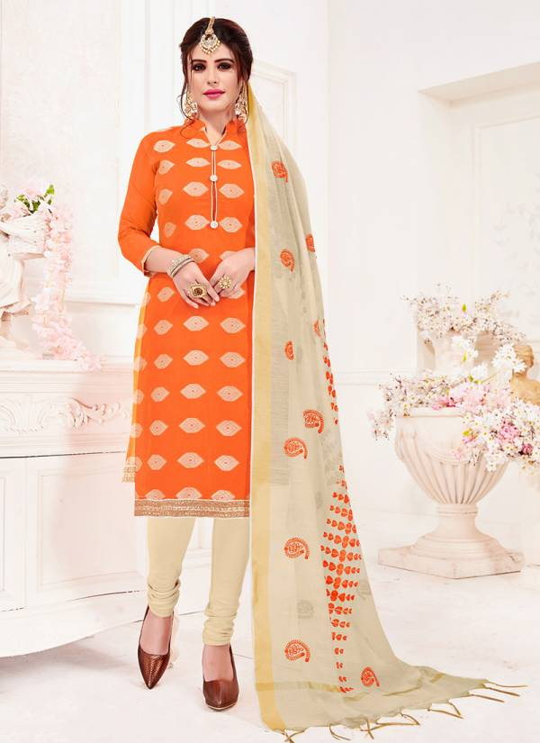 Rahul NX Bindiya Series 1001B-1010B Banarasi Jacquard Stylish Look Gorgeous Readymade Salwar Suits Collection