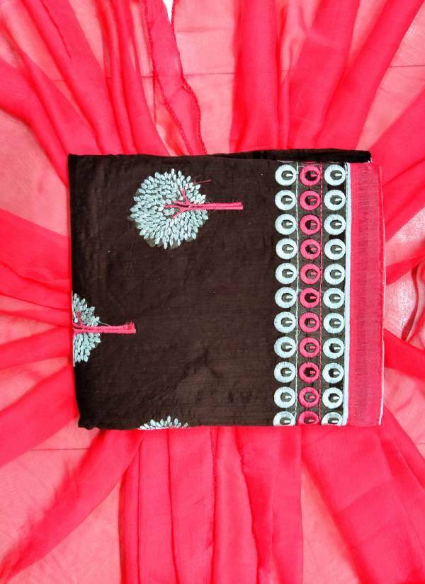 Rahul Nx Rasili Vol 11 Series 1R-10R Chanderi Cotton Work Traditional Wear Salwar Suits Collection