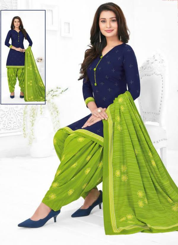 Baalar Fabric Colourful Vol 7 Series 702-732 Pure Cotton New Fancy Daily Wear Lawest Prices Readymade Patiyala Suits Collection