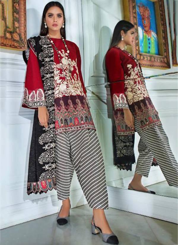 Deepsy Sana Safinaz Muzlin Series MUZLIN-791-MUZLIN-796 Pashmina Print With Emroidery Work New Designer Casual Wear Pakistani Suits Collection