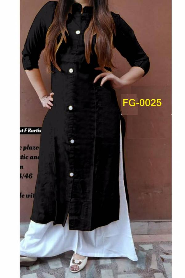 Fashion galleria F.G.Rayon Current Rayon Kurtis with Fancy Duppata Collection