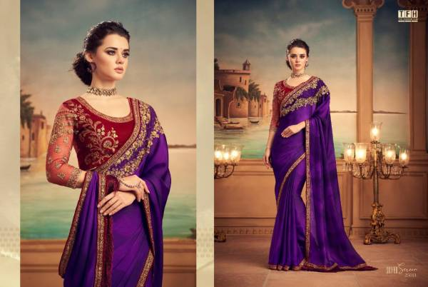 The Fashion Hub Silver Screen 15 Silk Party Wear Fancy Designer Sarees Collection