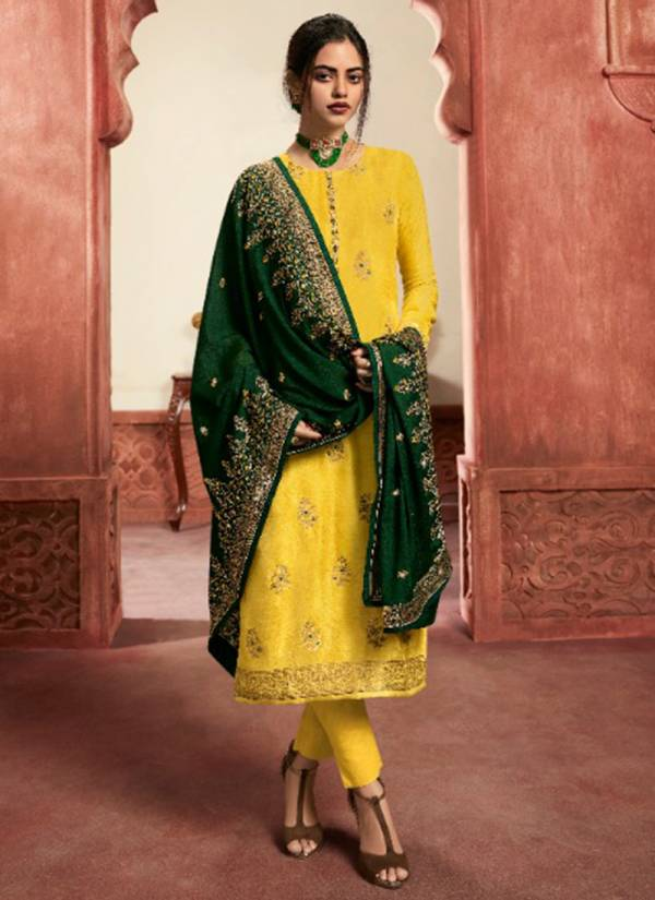 LT Nitya Vol 162 Series 6201-6208 Dola Jacquard Meena With Fancy Hand Work New Designer Churidar Suits Collection