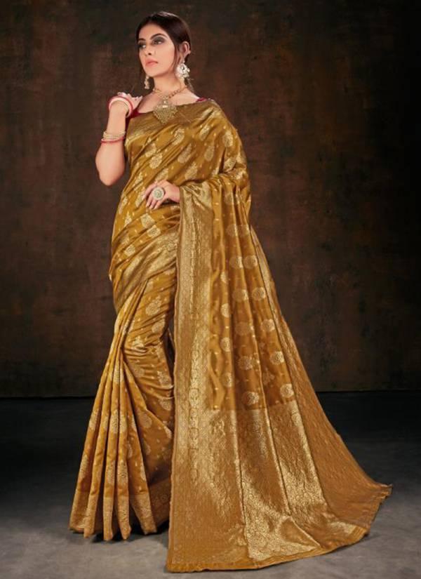 Vellora Vol 21 Kesari Exports Series 3101KE-3104KE Banarasi Silk Designer Wedding & Festival Wear Special Sarees Collection