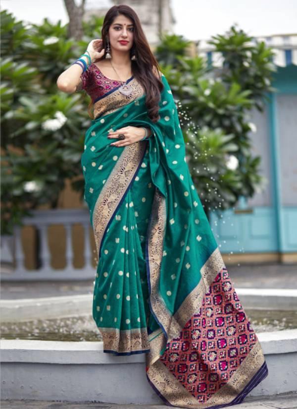 Manjubaa Mahalaya Silk Series 3801-3810 New Designer Silk Wedding Wear Sarees Collection