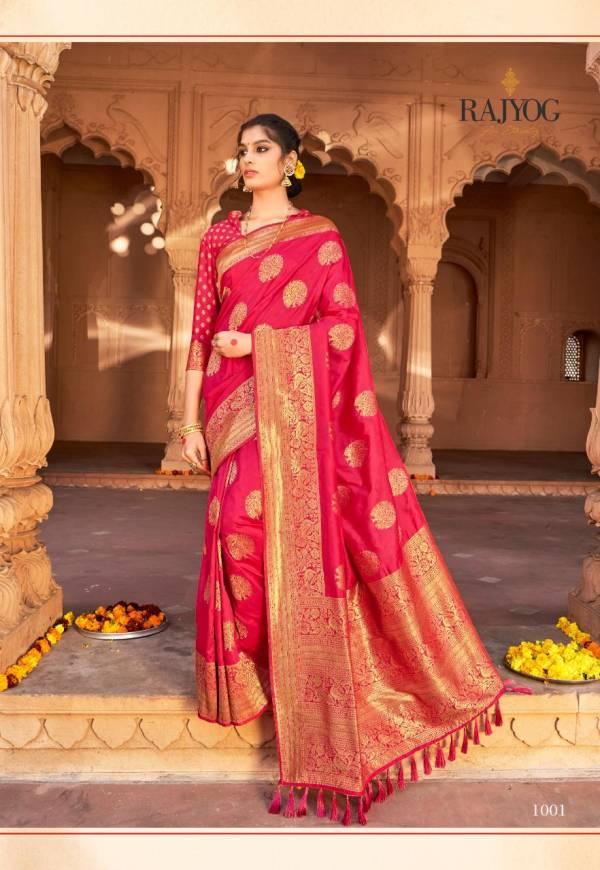 Rajtex Aasman Silk Pure Satin With Weaving Silk Designer Sarees Collection