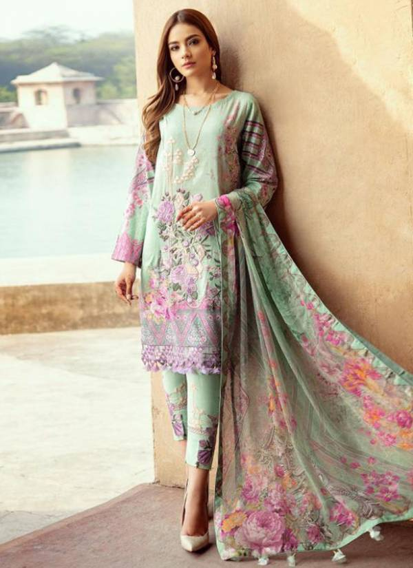 Shree Fab Firdous Premium Series 1482-1488 Pure Jam Cotton Print With Exclusive Heavy Embroidery Work Festival Wear Pakistani Suits Collection