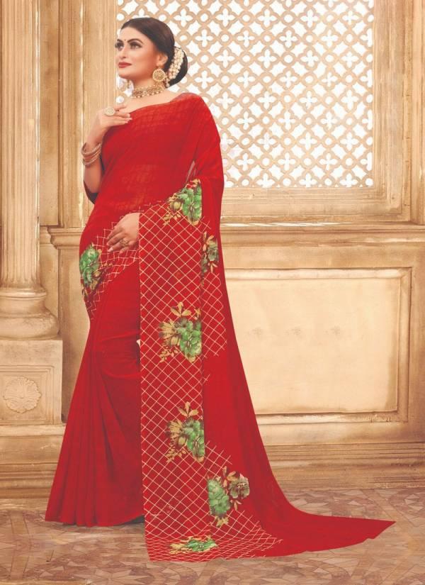 Kodas Splash Series 6232-6243 Dani Printed Casual Wear Sarees Collection