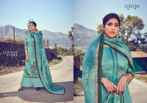 Aarav Trendz Shilpi Jam Satin Silk With Digital Printed Sequence Work Palazzo Suits Collection