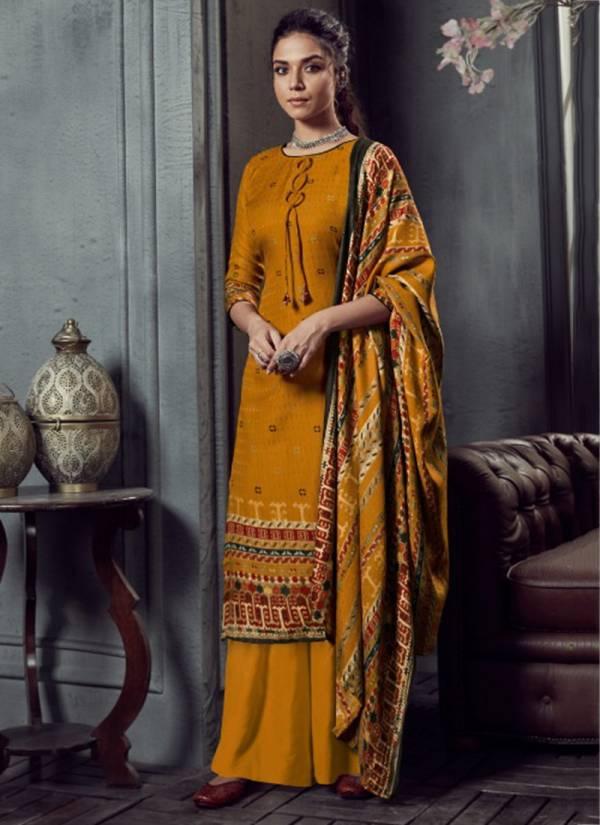 Zulfat Designer Suits Winter Magic Vol 3 Series 221-001 - 221-010 Special Winter Season Pure Pashmina Digital Style Print Exclusive Salwar Suits Collection