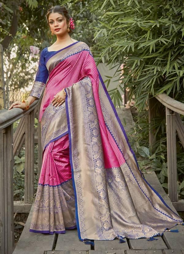 Sangam Kalighata Silk With Rich Pallu Wedding Wear  Designer Sarees Collection