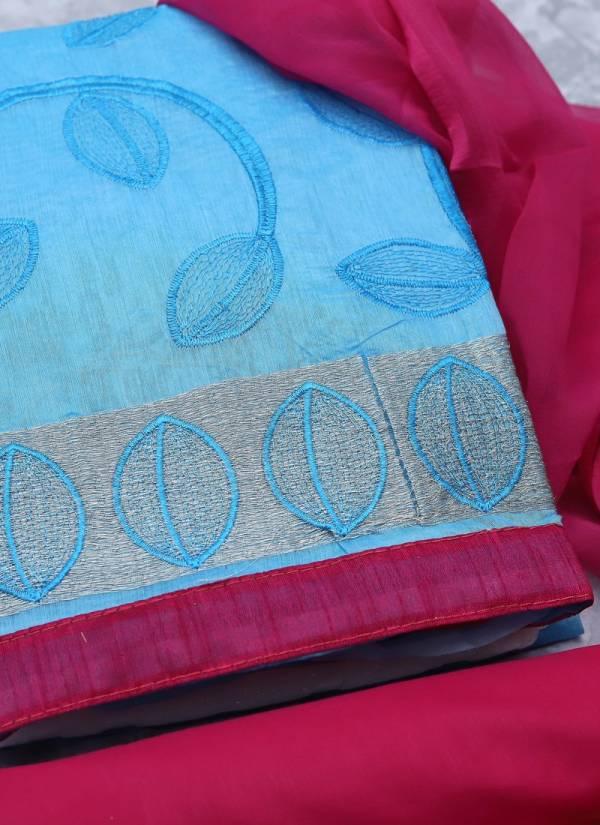 Rahul Nx Rasili Vol 12 Series 12001-12012 Modal Silk With Stylish Embroidery Work Salwar Suits Collection