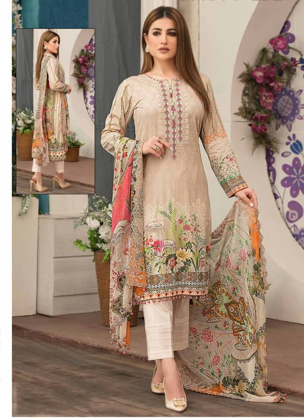 N-Sobia NX Series 901-906 Heavy Cotton Digital Printed Casual Wear Pakistani Suits Collection