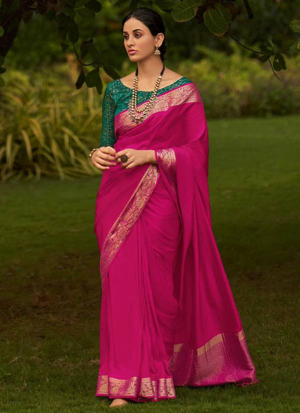 LT Fabric Mishka Silk Series 301-305 Pure Viscose With Fancy Blouses Latest Designer Festival Wear Sarees Collection
