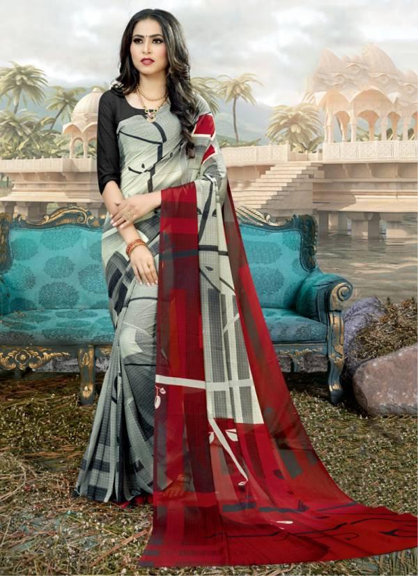 Kodas Double Dhamaka 60 Series 6550-6561 Rennial Printed Regu;lar Wear Sarees Collection