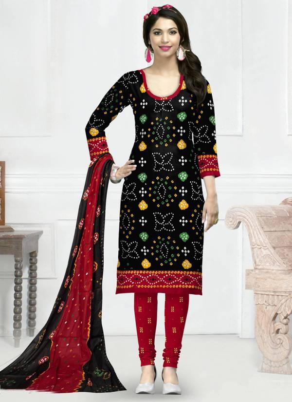 Shree Meenaxi Cotton Chunari Vol 4 Series 4001-4010 Pure Cotton Bandhani Print Casual Wear Designer Suita Collection