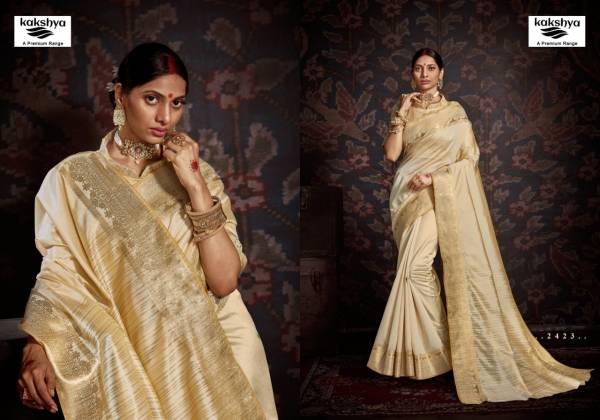 Kakshya Riya Series 2419-2424 Aasam Silk New Designer Festival Wear Sarees Collection