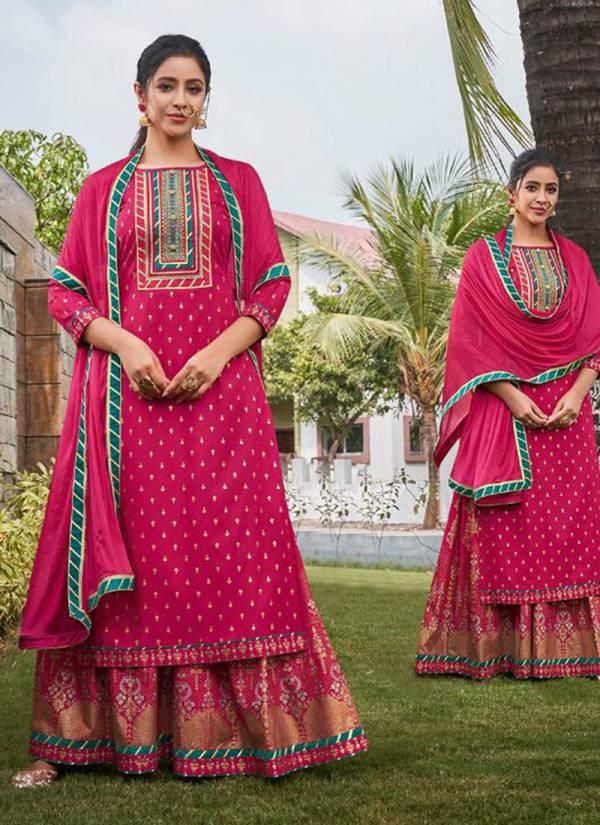 Rangoon Natraj Vol 2 Series 2571-2574 Heavy Rayon Fancy Printed With Work Designer Readymade Lehenga Suits Collection