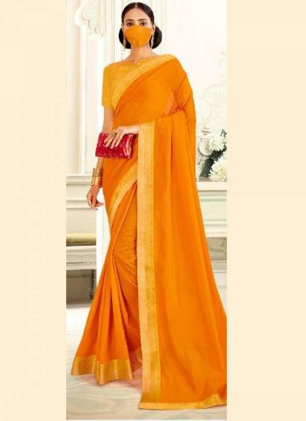 Right Women Designer Isha Silk Vichitra Casual Wear Designer Sarees Collection