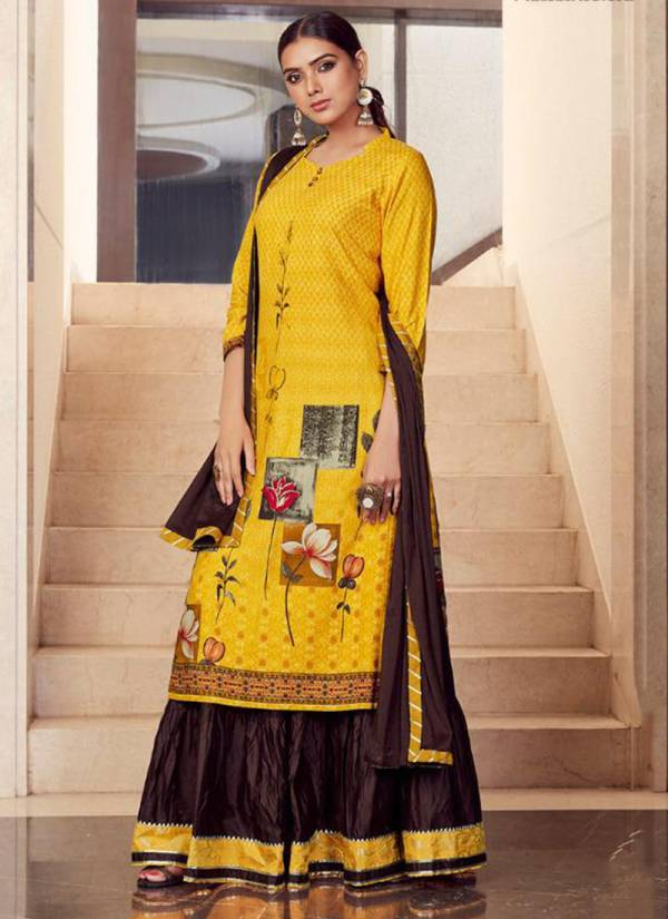 Kalaroop Venue Series 12159-12162 Latest Pure Digital Rayon Print Readymade Casual Wear Suits Collection