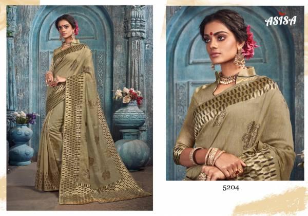 Asisa Pankhudi Series 5201-5204 Spun Kota New Designer Sarees Wholesale Price Collection