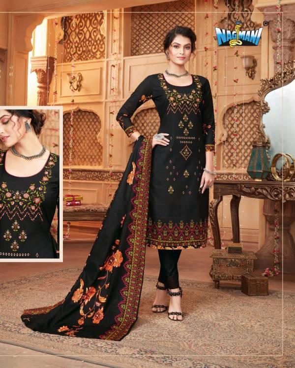 Nagmani Yariya Vol-1 Pure Poplin Lawn Digital Style Print Salwar Suit Collection