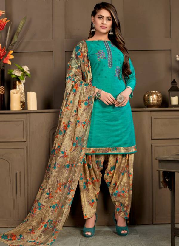 Ganesha Punjabi Patiyala Vol 1 Series 1008PP-1019PP Cotton Printed New Fancy Regular Wear Readymade Punjabi Patiyala Suits Collection