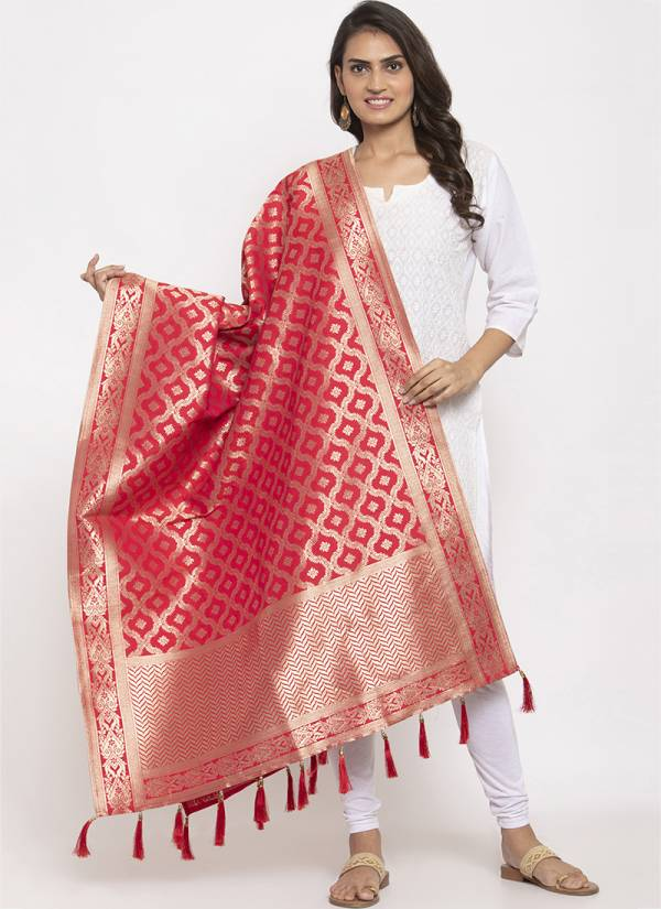 Kesari Exports Series PFB-18 - PFB-23 Fancy Silk Buy Now Traditional Wear Dupatta Collection