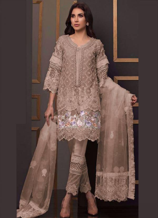 Fepic Rosemeen C1073 Colours Net Heavy Embroidery Work Eid Special Pakistani Suits Collection