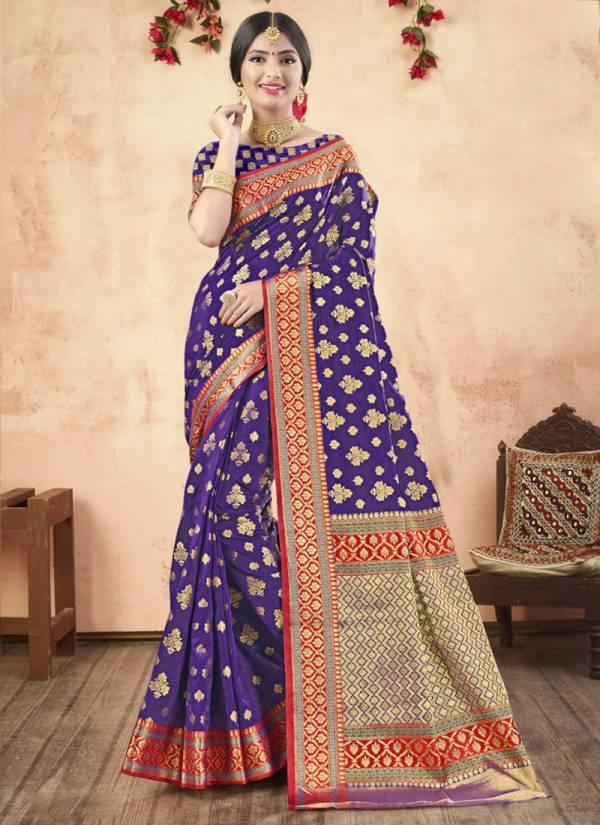 Shakunt Yashomati Art Silk Embroidery Work Festival Wear Designer Sarees Collection