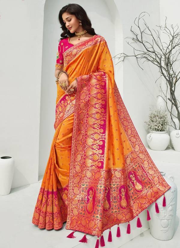 Royal Vrindavan Vol 13 Series 10088-10094 Banarasi Silk Designer Wedding Wear Sarees Collection