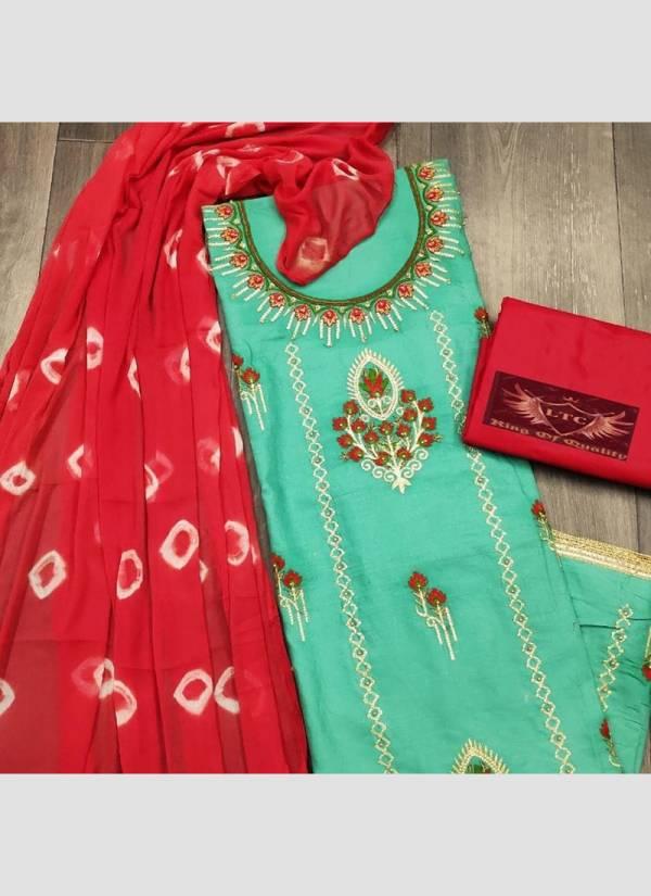 Maa Swaroop Suit Semi Model Designer Work Festival Wear Designer Non Catalogues Suits Collection