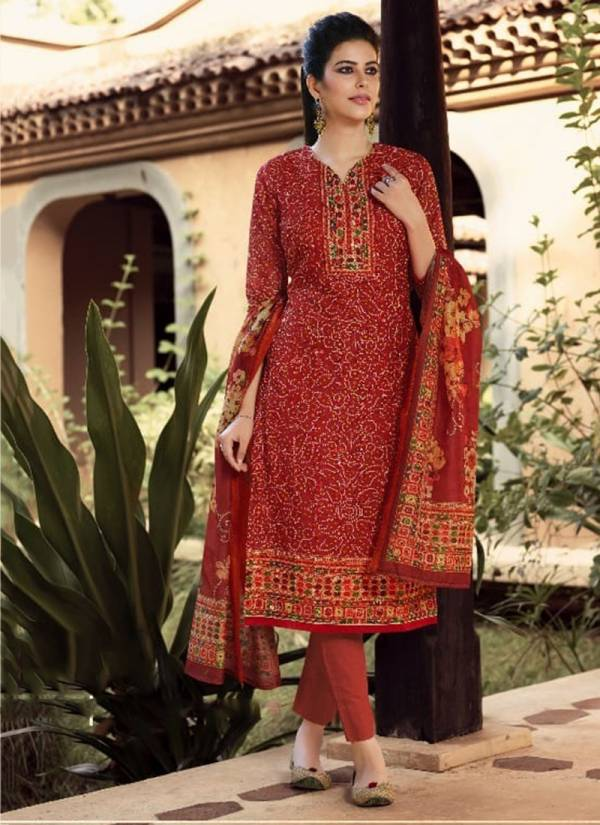 Meera Trendz Charmy Symphony Series 2091-2098 Model Chanderi Silk With Embroidery Work Casual Wear Salwar Suits Collection