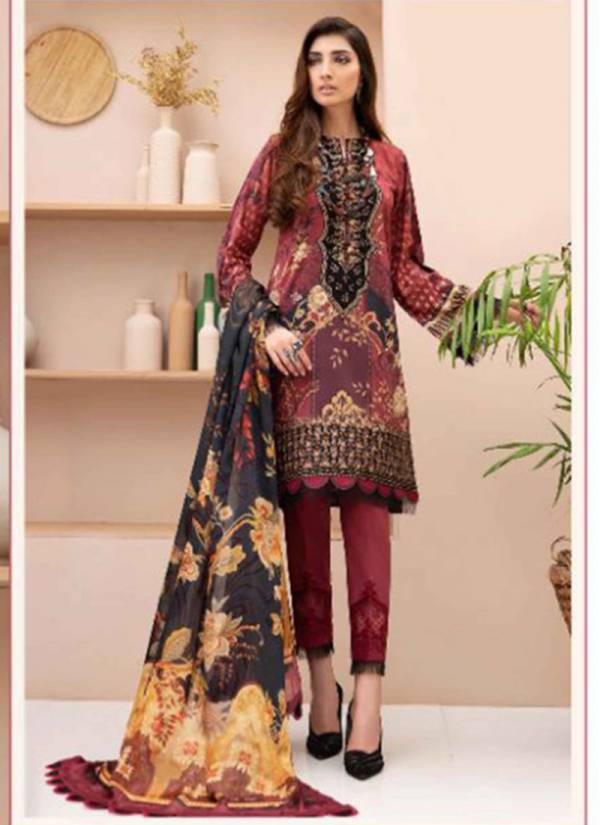 Maira Ahsan Luxury Series 1001MS-1004MS Pure Lawn Cotton Printed New Designer Beautiful Casual Wear Pakistani Suits Collection