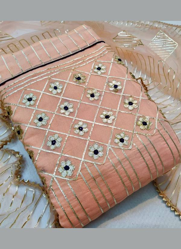 Designer Suits Series 3551-3558 Semi Modal Gota Patti Work New Designer Salwar Suits Collection