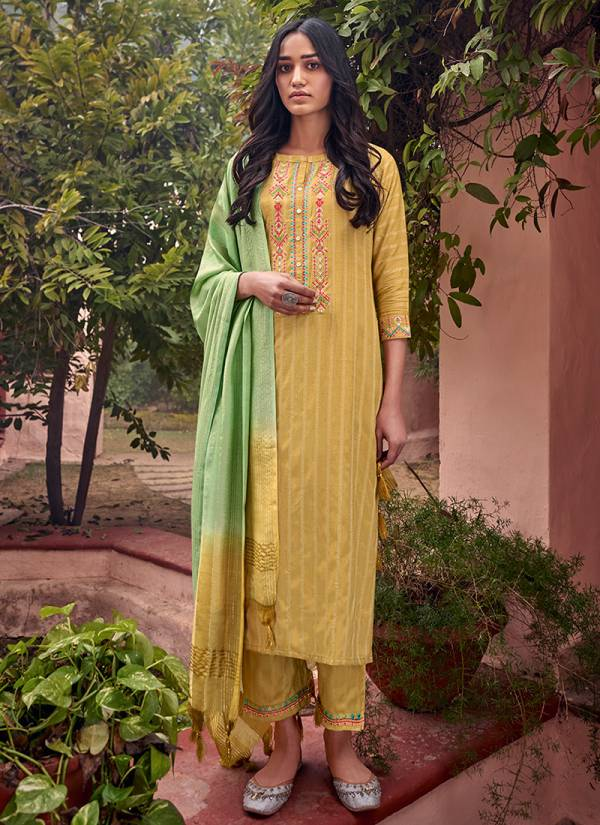 D Style Ananti Nishra Series 2001-2005 Fine Weaving Viscose With Minimal Embroidery Work New Designer Salwar Suits Collection