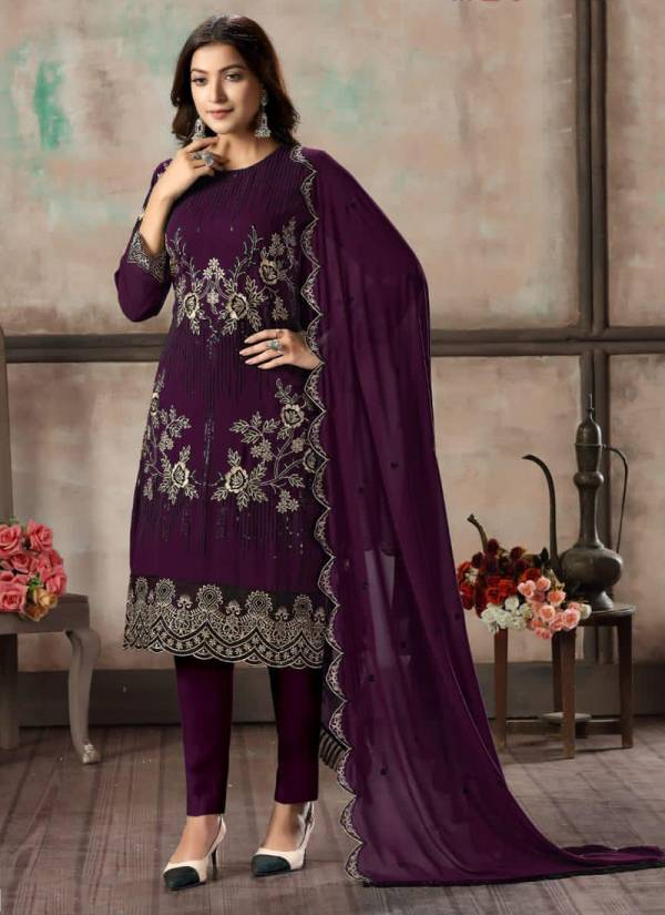 Dani Fashion Vaani Vol 2 Series 21-24 Faux Georgette With Santoon Inner Tariditional Wear Suits Collection