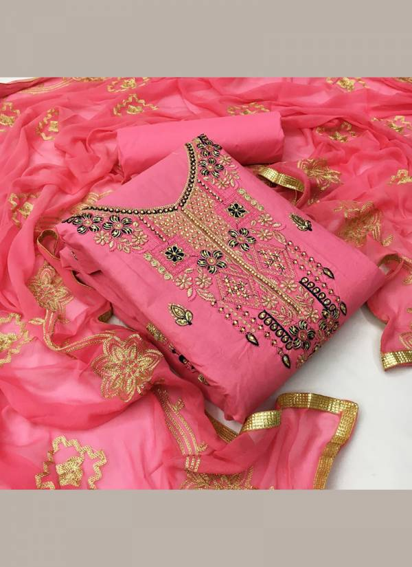 Ruhi Fashion  Series EDM1-EDM4 Cotton  Embroidery Work Casual & Trendy Wear Also Festival Wear Latest Designer Salwar Suits Collection