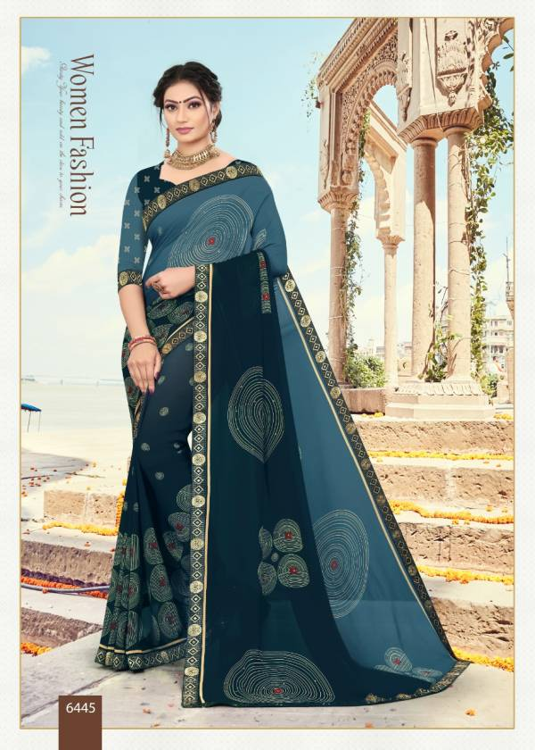 Kodas Sitka Blue Eyes Vol 21 Weightless Fancy Printed Casual Wear Sarees Collection