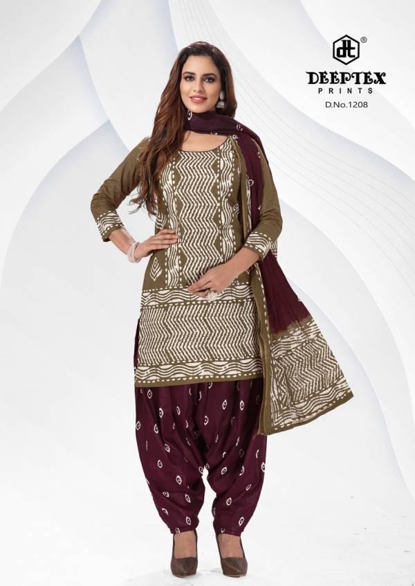 Deeptex Prints Batik Plus Vol 12 Cotton Batik Prints New Look Patiyala Suits Collection