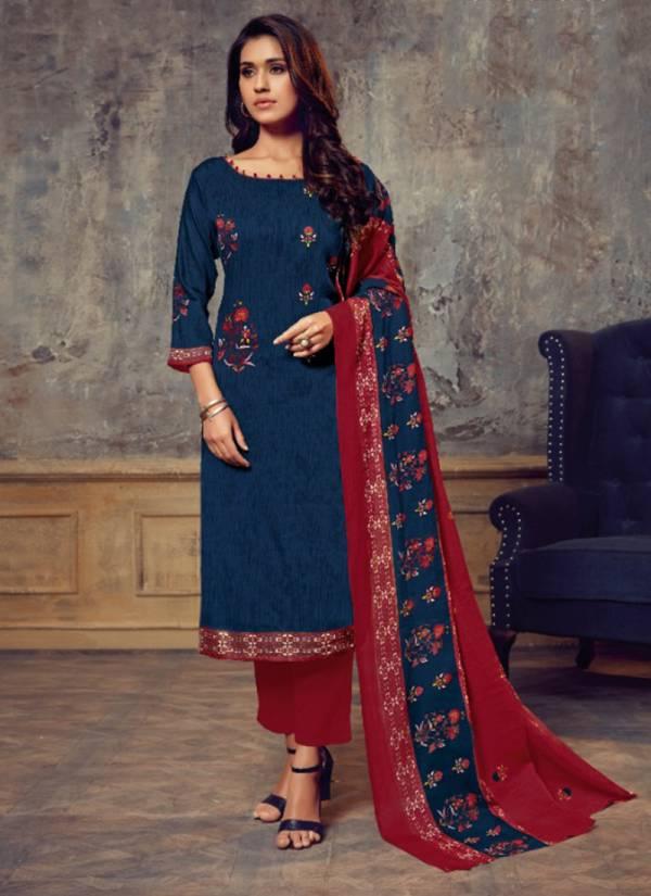 Vastu Spice Series 1001-1012 Pure Cotton Satin Print Buy Now Latest Designer Regular Wear Churidar Suits Collection