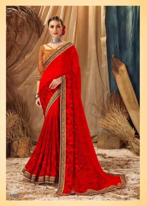 Saroj Saloni Georgette Digital Printed Regular Wear Designer Sarees collection