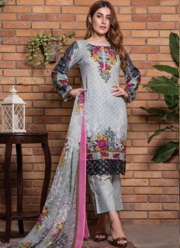 Agha Noor vol 2 Series 1011-1020 Heavy Luxury Lawn Cotton Karachi Style Latest New Designer Pakistano Salwar Suits Collection